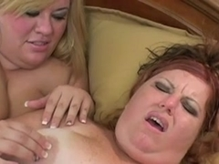 Lesbian Action #8 (Two BBW)
