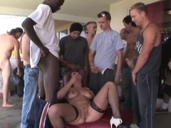 Incredible pornstars Adele Sunshine, Casey Cumz and Beverly Hills in crazy compilation, gangbang xxx movie