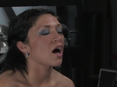 Crazy fetish xxx movie with fabulous pornstar Charolette Bloom from Fuckingmachines