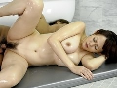 Crazy Japanese slut Rina Wakamiya in Amazing JAV uncensored Blowjob movie