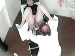 Hidden cam in doctor