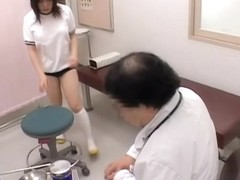 Horny gynecologist fingers an asian twat in hot spy movie