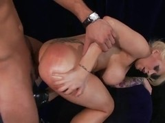Candy Manson and Danny Mountain hardcore sex