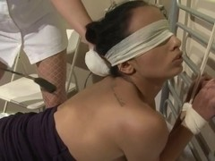Katy Parker gives sexual treatmend by nurse  Kerry