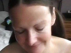 Large breasted wife got titty drilled