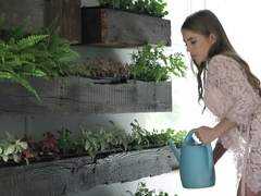 Alessandra Jane In Green Thumbs