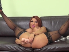 Hottest pornstar Ava Devine in Crazy Stockings, Big Tits sex video