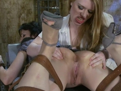 Incredible fetish xxx video with crazy pornstars Madison Young and Dylan Ryan from Everythingbutt