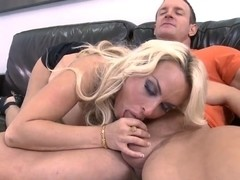 Big titted blond MILF Holly Halston getting hardcore banging from Tj Cummings