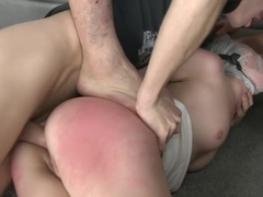 Triple Penetration! Double Anal! Russian Beauty with Gaping Butthole!!
