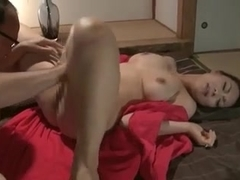 Big Tits Wife Bosom Squeezing Ejection
