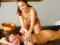 Dillion Harper, Tony De Sergio in My Step-Dad's Vegas Trip Scene
