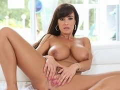 Lisa Ann in Poolboy Seduction - PureMature Video