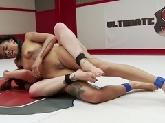 The Annihilator takes on 'The Machine' in 100% competitive sex wrestling