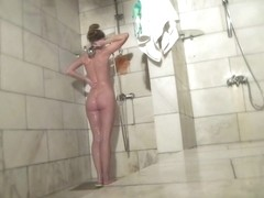 Hot Russian Shower Room Voyeur Video  30