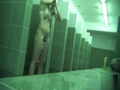 Hidden cameras in public pool showers 725