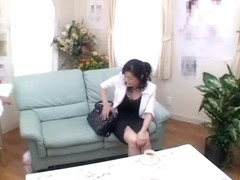 Hidden cam video in which a japanese twat is drilled rough