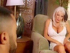 Busty mature gets her loose hole fucked