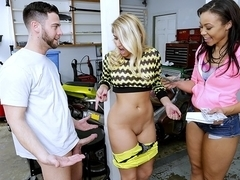 Seth Gamble & Kimmy Fabel in Deep throat - MoneyTalks