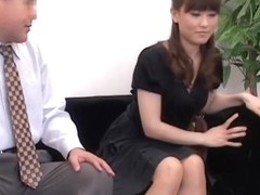 Skinny Asian rides for semen in spy cam Japanese sex video