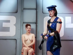 Horny fetish, latex sex clip with fabulous pornstars Snow Mercy and Ingrid Mouth from Kinkuniversi.
