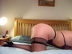 Just a little light gentle horny spanking
