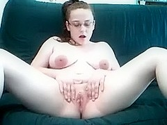 My wife shows me her regular masturbation process on the bed