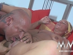 MMVFilms Video: Couple Fucking On The Sofa