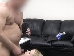 Fake agent decided to make an amateur cumshot compilation