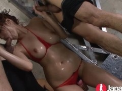 Young Japanese Squirting Waterfall