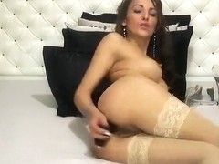 Webcam babe Lorrette anal fisting