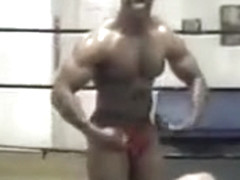 Crazy male in incredible fetish, sports homo adult clip