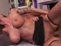 Alia Janine is a dick-possessed cougar of Keiran Lee