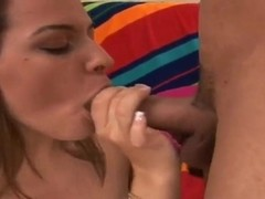 Brutal Carlos lick Jennifer's pussy after the wonderful blowjob
