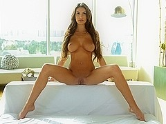 August Ames in Heart Rate Hottie - FantasyHD Video