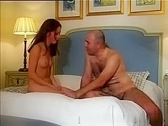 immature gets rough anal from an old guy