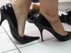 Black sexy Bagatt High Heels shoeplay