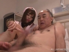 Chacha Anku,and Mao Miyabi naughty Asian nurses in hot three way