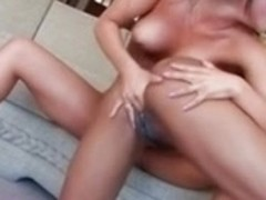Black and Asian Lesbians licking