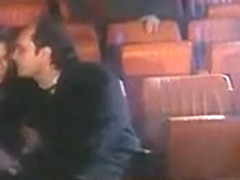 Big Orgy in Movie Theater