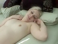 White Legal Age Teenager First Time Tries BBC