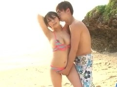 Kyouko Maki, big tits Japanese, wants to fuck until exhaustion