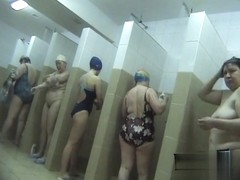 Hidden cameras in public pool showers 384