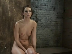 Nipple torture, brutal crotch rope and extreme bondage Girl next door is abused and made to cum!