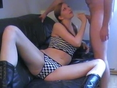 Amateur girl getting assfucked