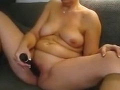 horny chubby slut anna in nylon socks