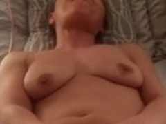 Wife cumming on her sextoy