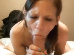 Lovely Horny Babe Suck And Ride A Hard Cock