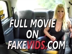 Barbie Sins And Honour May In Taxi training leads to threesome