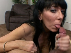 Incredible pornstars Alia Janine, Rikki Lee in Fabulous Brunette, Blowjob xxx video